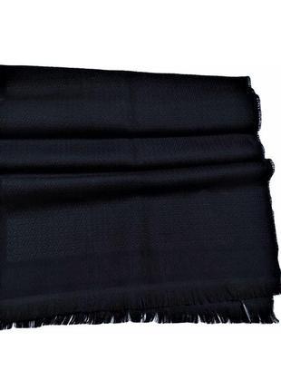 Шикарный шерстяной шарф balmain paris /3796/