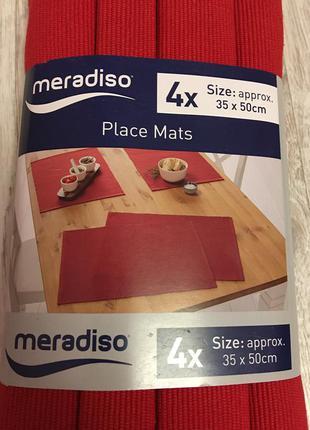 Meradiso салфетки на стол германия