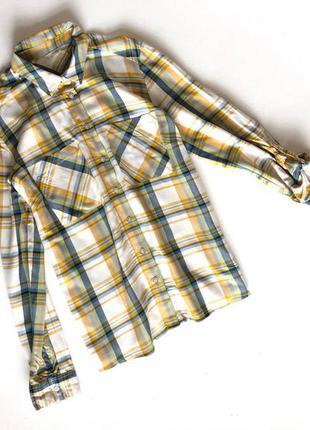 Стильная хлопковая рубашка george