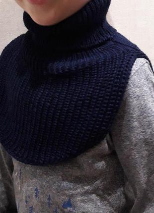Манишка 1-12 лет шарф