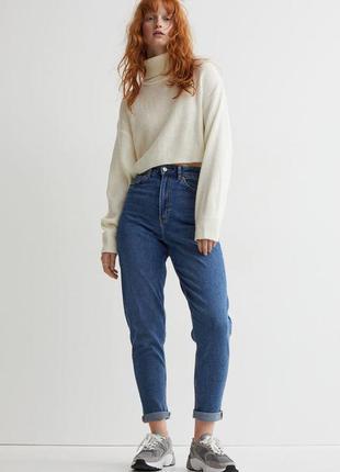 Джинси mom h&m, джинсы мом h&m