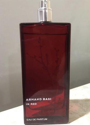 Armand basi in red парфюмированная вода 100мл оригинал тестер