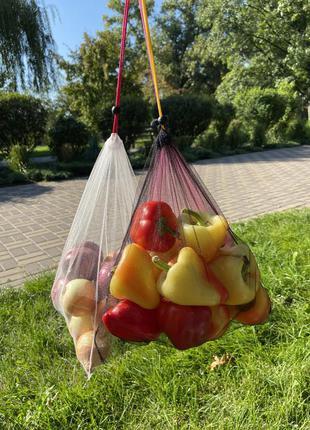 Экомешочки торба торбинка фруктовка экомешок экосумка экомешочки