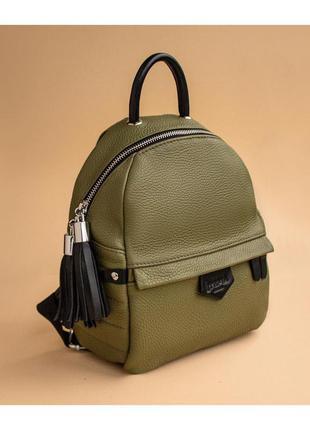 Рюкзак качественный кожаный в разных цветах на выбор