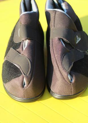 Ортопедические туфли, тапочки на широкую стопу ног leipzig германия