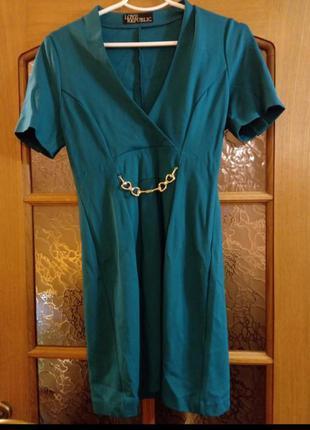 Коротка сукня короткий рукав/короткое платье короткий рукав