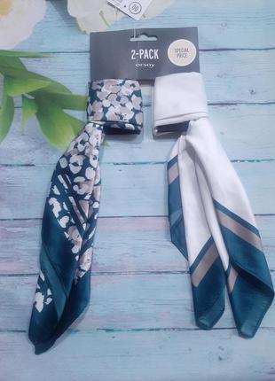 Набор из двух платков шарфов