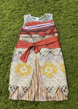 Платье моана на3-4года