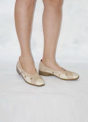 Кожа удобные туфли padders 9 uk р. 43