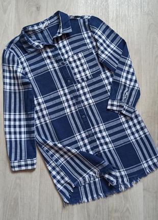 Моднячая рубаха\туника zara на 8 лет