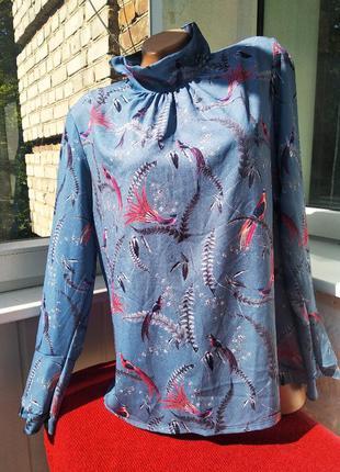 Sale блуза с принтом animal