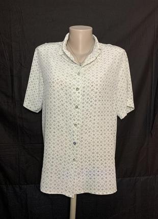 Шелковая блуза рубашка c&a