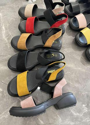 Босоножки ☘️ сандали на платформе