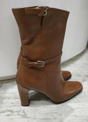 Шкіряні осінні черевички