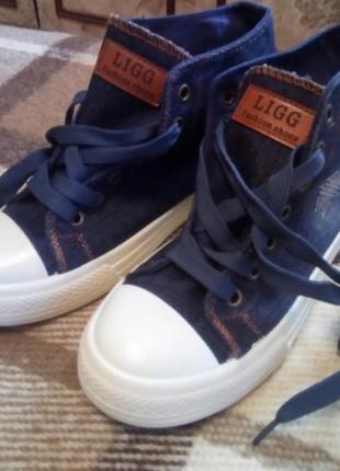 Кеды, кроссовки, макасины джинс