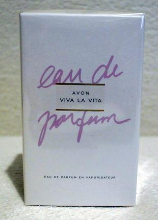 Парфумированная вода viva la vita 50 мл avon