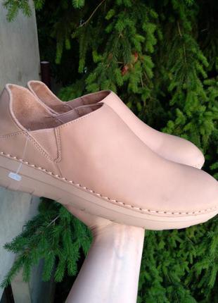 Р.42 fitflop (оригинал) кожаные туфли.