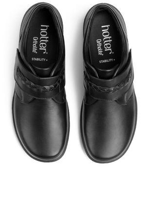 Новые женские туфли hotter 28 см 43 размер кожа англия