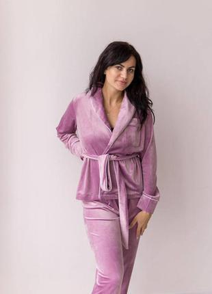 Хіт!тепла бархатна піжама, халат/штани/шорти/футболка/зимний пижамный костюм