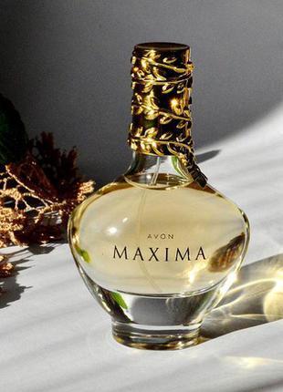 Распродажа! суперцена! avon maxima парфюмированная вода женская 50 мл. avon.  женский аромат