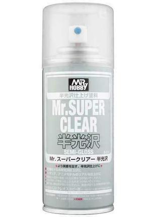 Лак клир для оак кукол blythe mr. super clear semi-gloss (полу глянцевый) b-516 170 ml