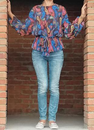 Плиссерованая блузка