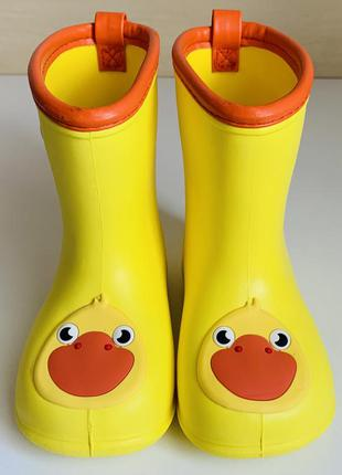 Ультралегкие сапоги, сапожки от дождя , как crocs  🌧💧☔ 🐥 🐥 размер 24 (15 см ) ❗❗❗