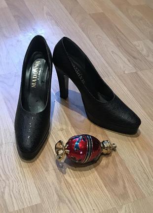 Madonna pinky эксклюзив туфли кожа высокий каблук платформа.