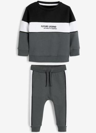 Костюм спортивний для хлопчика next спортивный для мальчика свитшот штаны світшот штани