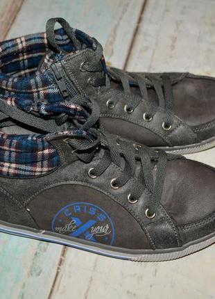 Демисезонные кеды ,ботинки criss cadss размер 34