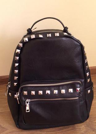 Рюкзак чудової якості, черный рюкзак стильный.
