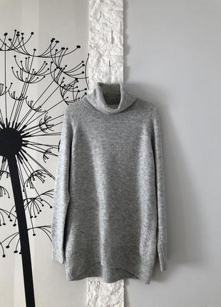 Серые свитер-платье h&m