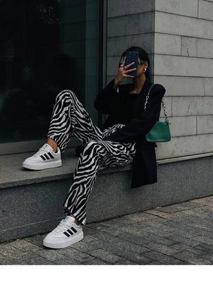 Штаны зебра