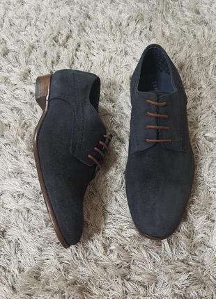 Туфлі seran san marina нат.замша р.41. маломірять.