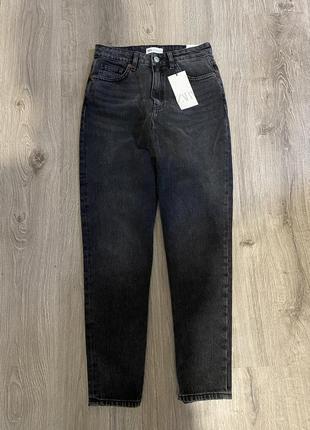 Zara mom джинсы