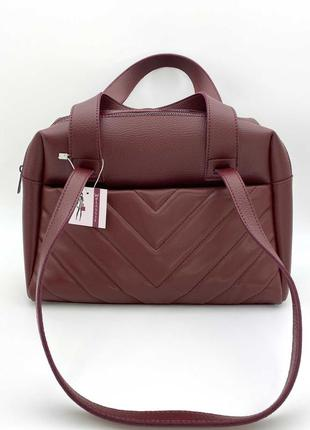 Женская сумка. жіноча сумка (бордова).