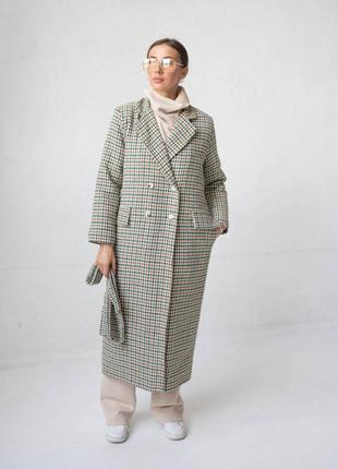 Пальто лапка утепленное арт 5427.14