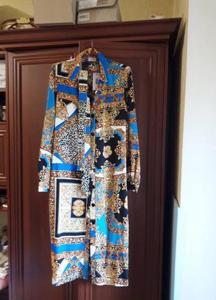Платье- халат новое