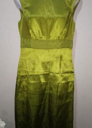 "🌿🏷️🌺стильное платье ""monsoon collectin"" р.44/шелк +хлопок🌿🏷️🌺"
