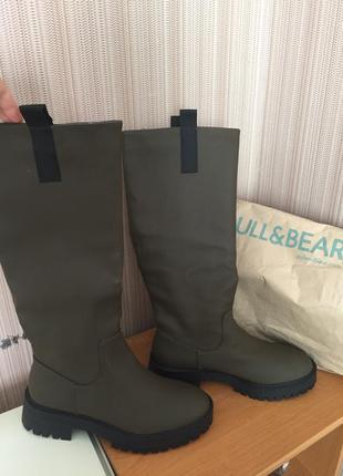 Стильні чоботи pull&bear