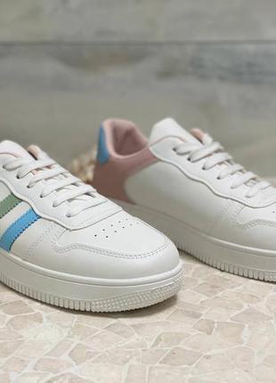 Кроссовки женские белые 40 размер