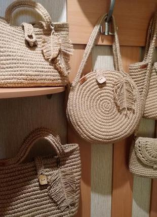 Продам комплект эко-сумок (ручная работа)