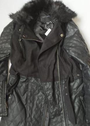 Пальто парка, классическое, стильное, стёганое