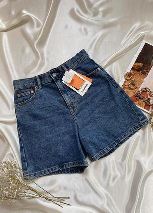 Крутые джинсовые шорты mom pull&bear