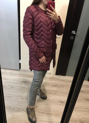 Демисезонная осенняя куртка - плащ от производителя