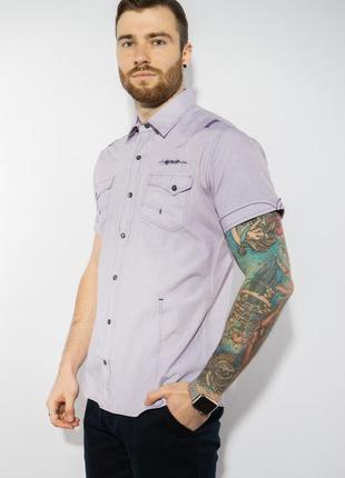 Рубашка в мелкую полоску