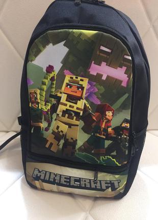 Майнкрафт рюкзак в школу , детский рюкзак