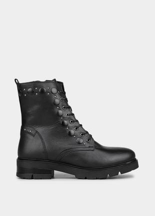 Жіночі шкіряні черевики braska / оригинальные женские кожаные ботинки браска
