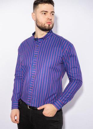 Рубашка в яркую полоску