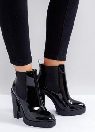 Невероятные массивные ботинки челси asos